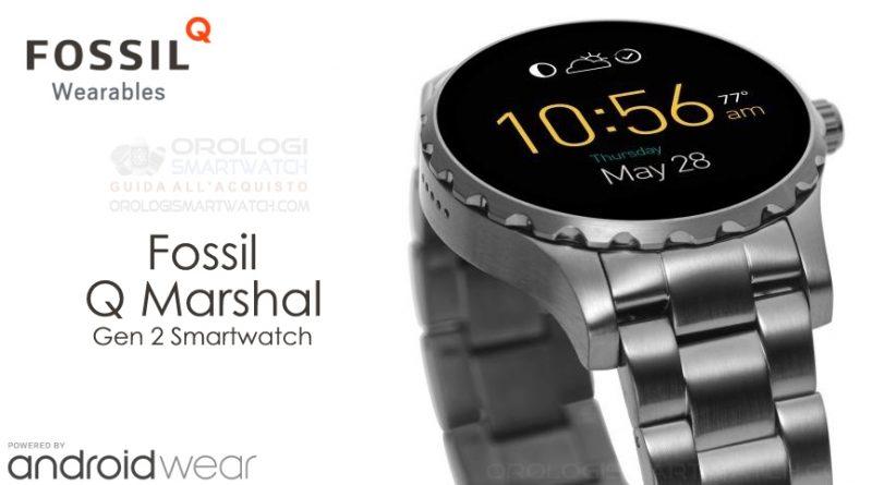 Scheda Tecnica Fossil Q Marshal Gen 2 Smartwatch