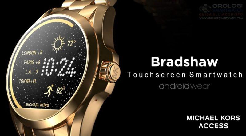 Scheda Tecnica Michael Kors Access Bradshaw Smartwatch