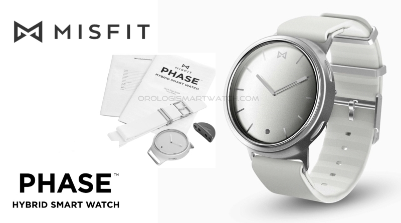 Scheda Tecnica Misfit Phase Hybrid Smartwatch