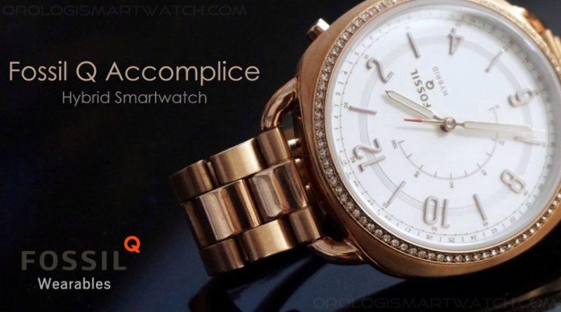 Scheda Tecnica Fossil Q Accomplice Hybrid Smartwatch