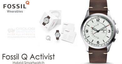 Scheda Tecnica Fossil Q Activist Hybrid Smartwatch