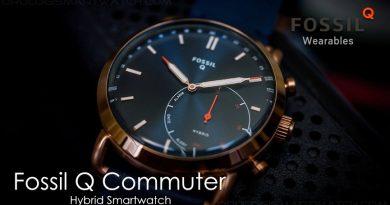 Scheda Tecnica Fossil Q Commuter Hybrid Smartwatch