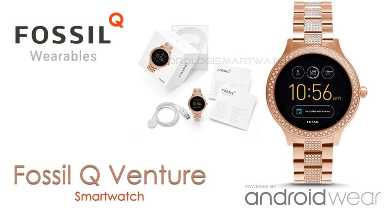 Scheda Tecnica Fossil Q Venture Gen 3 Smartwatch