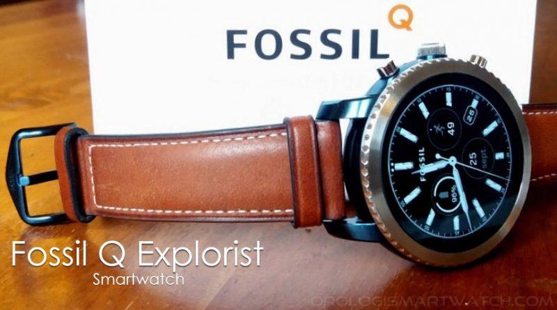 Scheda Tecnica Fossil Q Explorist Gen 3 Smartwatch