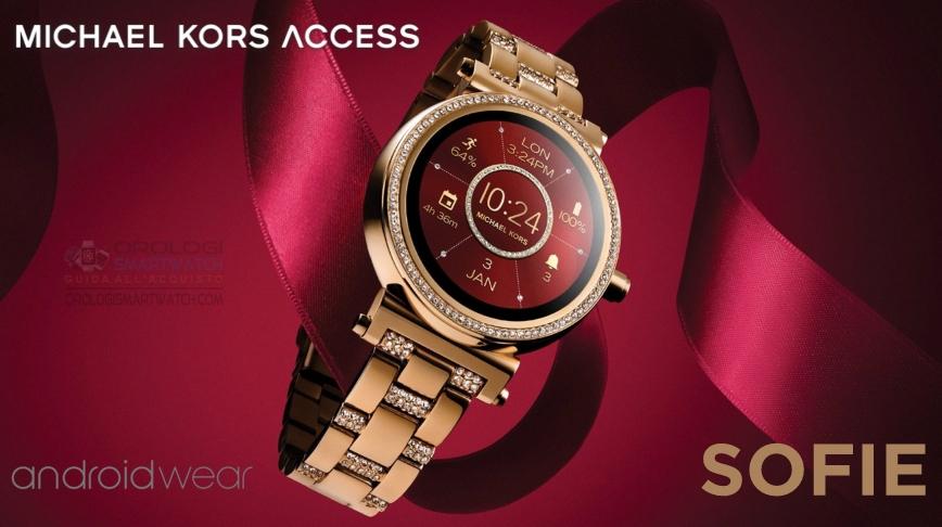 b1cc4768d7bcbd Scheda Tecnica Michael Kors Access Sofie. Smartwatch Android Wear 2.0