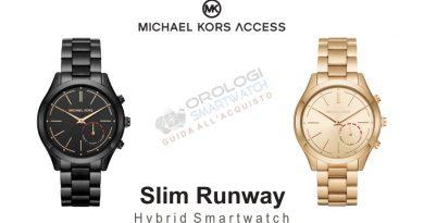 Scheda Tecnica Michael Kors Access Slim Runway Hybrid Smartwatch