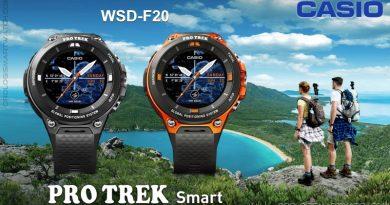 Scheda Tecnica Casio PRO TREK Smart WSD-F20