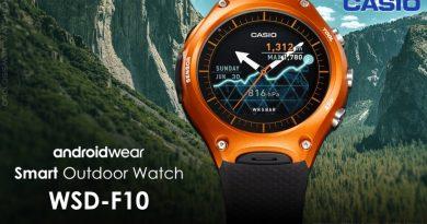 Scheda Tecnica Casio WSD-F10 Smart Outdoor Watch