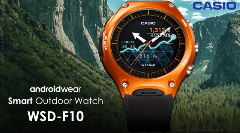 Scheda Tecnica Casio WSD-F10 Smart Outdoor Watch