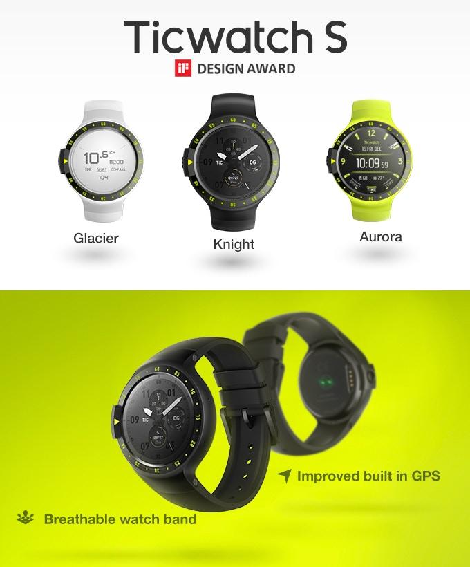 Ticwatch Express e Ticwatch Sport