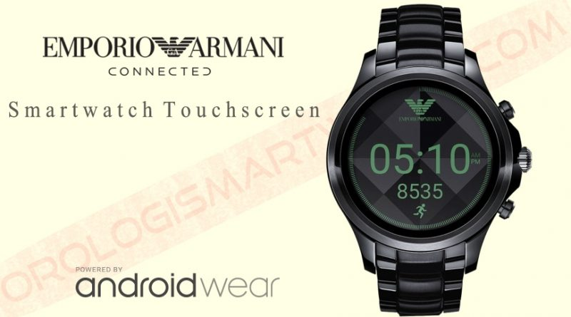 Scheda Tecnica Emporio Armani Connected Smartwatch Touchscreen