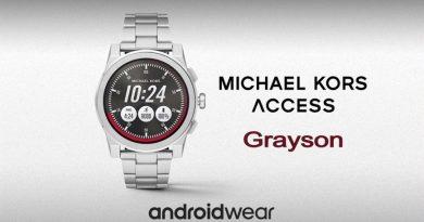 Scheda Tecnica Michael Kors Access Grayson
