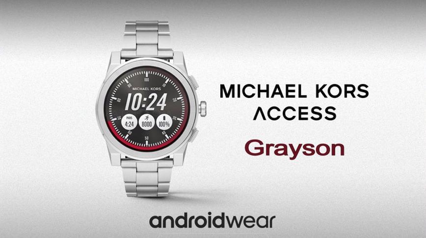 ea791267fa373 Scheda Tecnica Michael Kors Access Grayson. Smartwatch da uomo man.