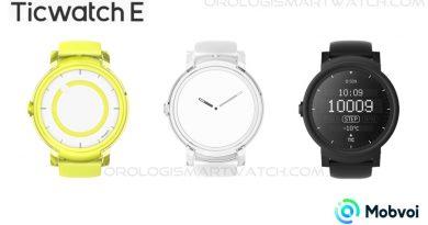 Scheda Tecnica Mobvoi Ticwatch Express Ticwatch E