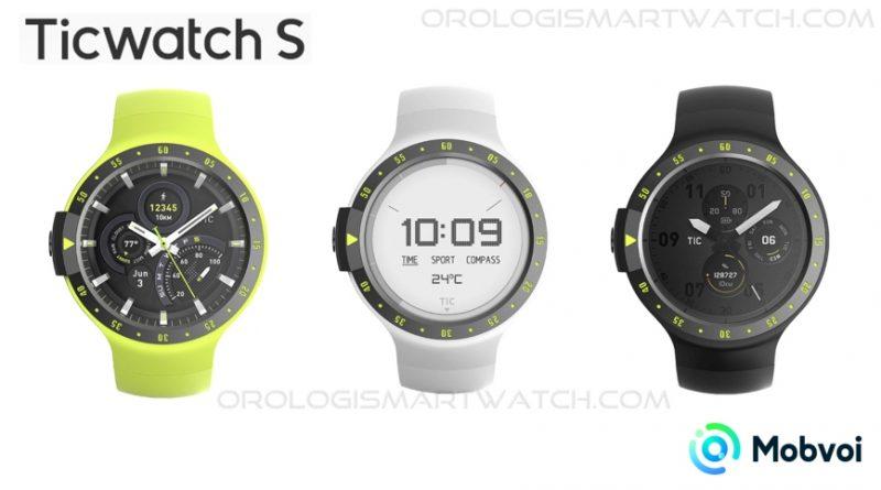 Scheda Tecnica Mobvoi Ticwatch Sport Ticwatch S