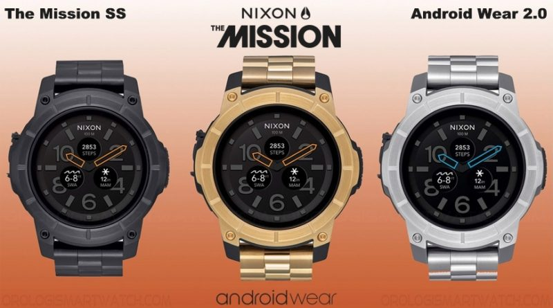 Scheda Tecnica NIXON The Mission SS