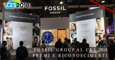 CES 2018, Fossil Group ottiene premi e riconoscimenti per i suoi smartwatch