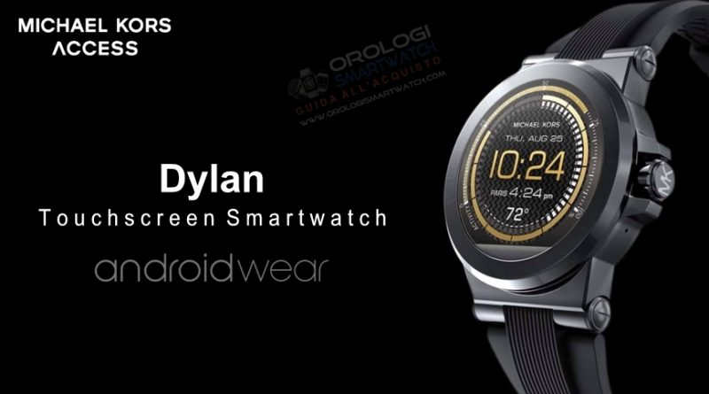Scheda Tecnica Michael Kors Access Dylan Smartwatch
