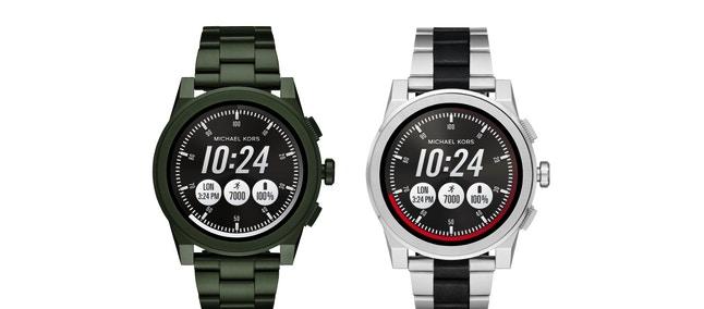 86c9f387ed0e9 Concepito per lo stile vi vita frenetico dell uomo moderno, lo smartwatch  Michael Kors Access Grayson fonde tecnologia innovativa ed estetica  raffinata.