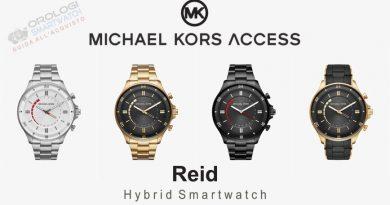 Scheda Tecnica Michael Kors Access Reid Hybrid Smartwatch