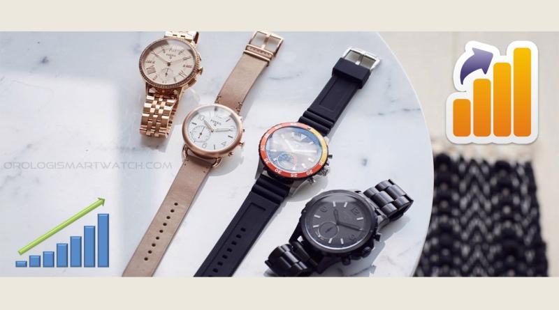 Smartwatch ibridi in continua crescita