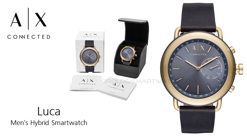 Scheda Tecnica Armani Exchange Connected Luca Hybrid Smartwatch