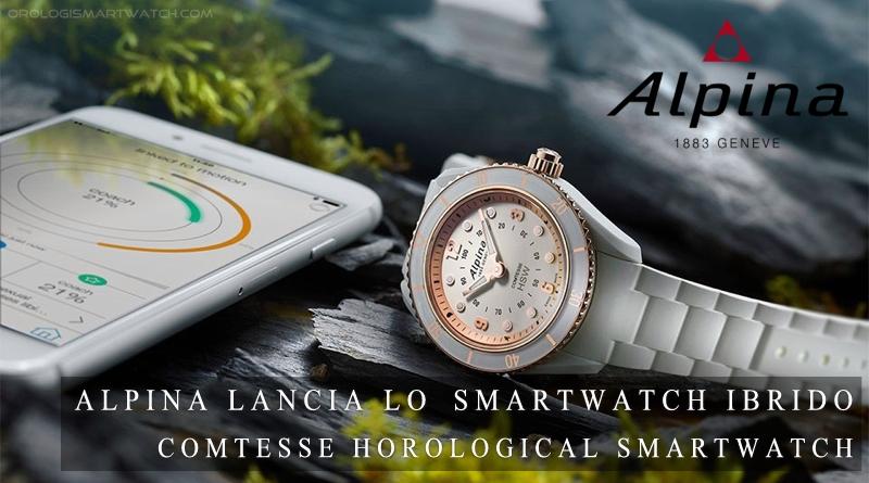 Alpina presenta lo smartwatch ibrido Comtesse Horological Smartwatch