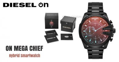 Scheda Tecnica Diesel On Mega Chief Hybrid Smartwatch