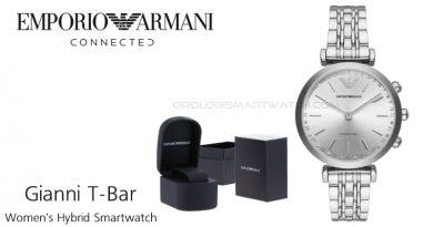 Scheda Tecnica Emporio Armani Connected Gianni T-Bar Women's Hybrid Smartwatch
