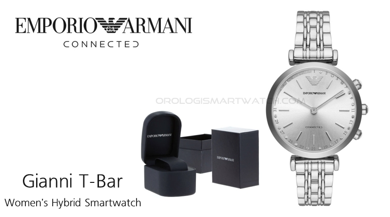 Scheda Tecnica Emporio Armani Connected Gianni T-Bar Women's Hybrid Smartwatch