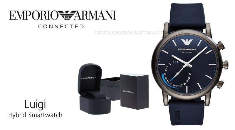 Scheda Tecnica Emporio Armani Connected Luigi Hybrid Smartwatch