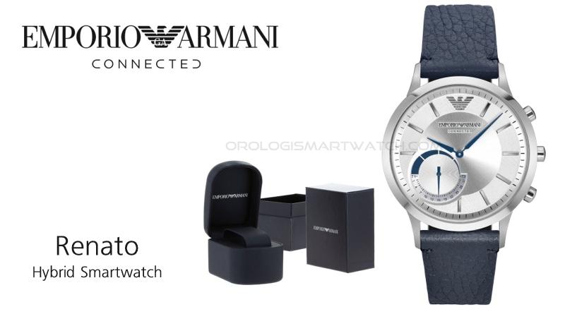 Scheda Tecnica Emporio Armani Connected Renato Hybrid Smartwatch