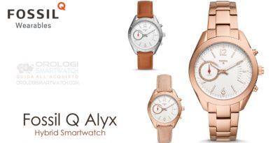 Scheda Tecnica Fossil Q Alyx Hybrid Smartwatch
