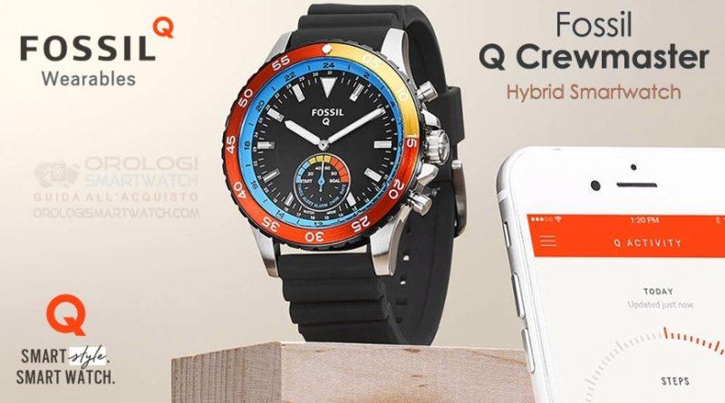 Scheda Tecnica Fossil Q Crewmaster Hybrid Smartwatch
