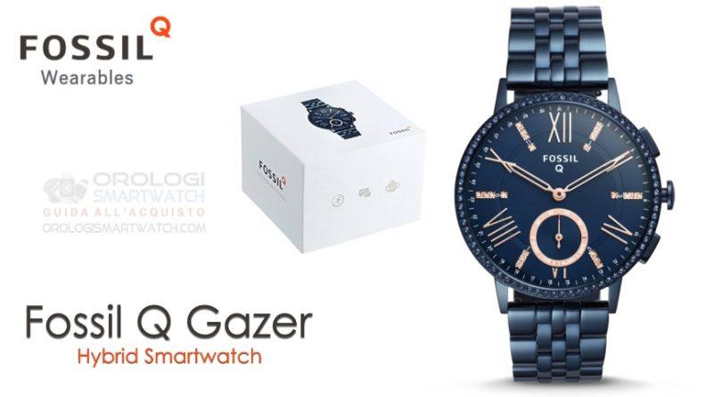 Scheda Tecnica Fossil Q Gazer Hybrid Smartwatch