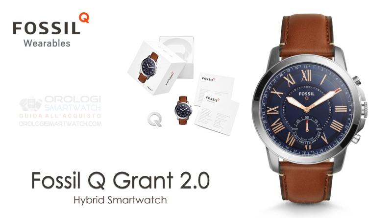 Scheda Tecnica Fossil Q Grant Gen 2 Hybrid Smartwatch