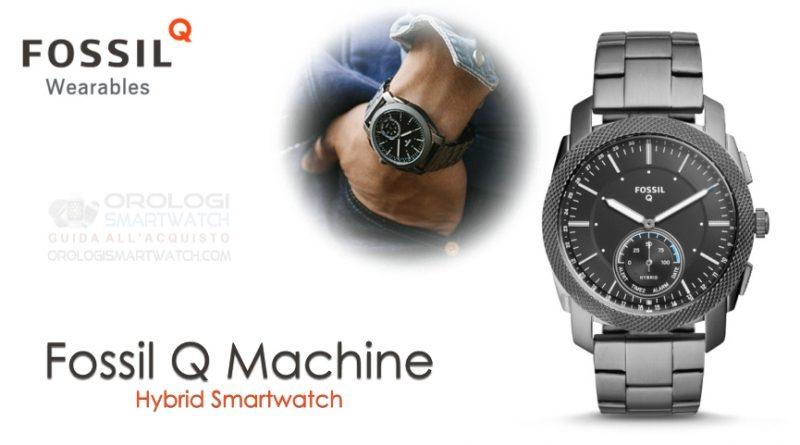 Scheda Tecnica Fossil Q Machine Hybrid Smartwatch