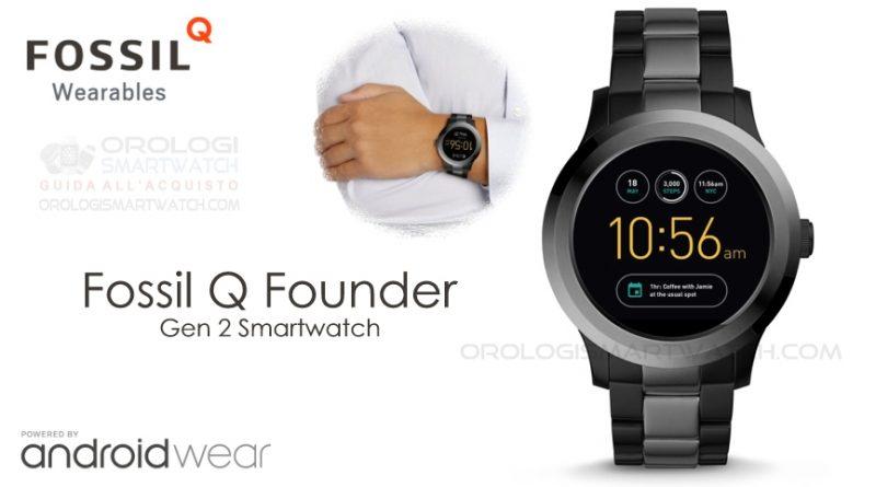Scheda Tecnica Fossil Q Founder Gen 2 Smartwatch