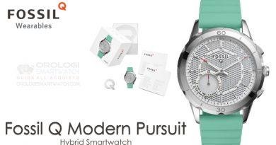 Scheda Tecnica Fossil Q Modern Pursuit Hybrid Smartwatch