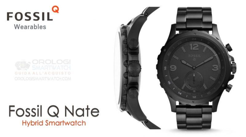 Scheda Tecnica Fossil Q Nate Hybrid Smartwatch
