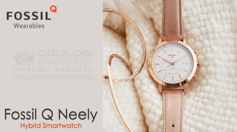 Scheda Tecnica Fossil Q Neely Hybrid Smartwatch