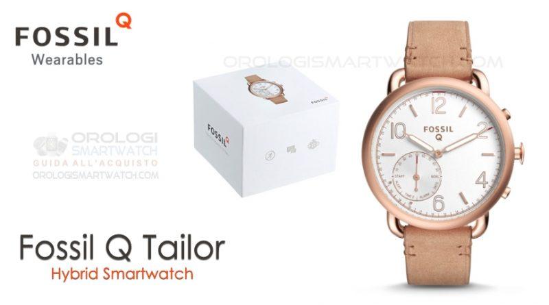 Scheda Tecnica Fossil Q Tailor Hybrid Smartwatch