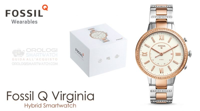 Scheda Tecnica Fossil Q Virginia Hybrid Smartwatch