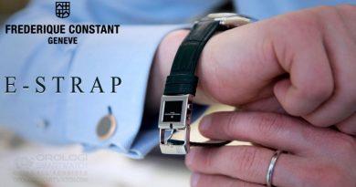 Frederique Constant lancia E-Strap a Baselworld