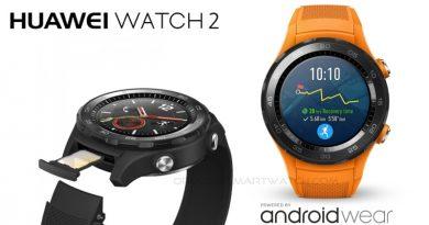 Scheda Tecnica Huawei Watch 2