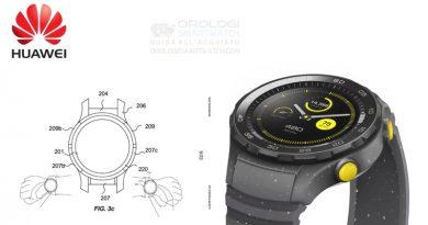 Huawei brevetta una ghiera per smartwatch sensibile al tocco