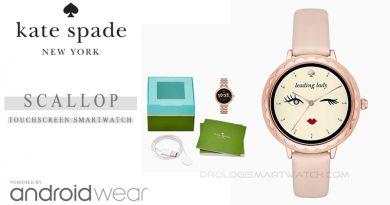 Scheda Tecnica Kate Spade Scallop Smartwatch