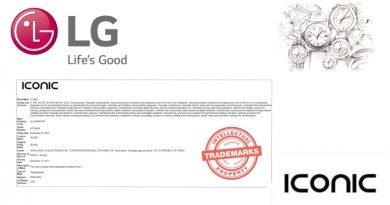 LG registra il marchio Iconic per uno smartwatch