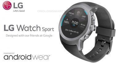 Scheda Tecnica LG Watch Sport