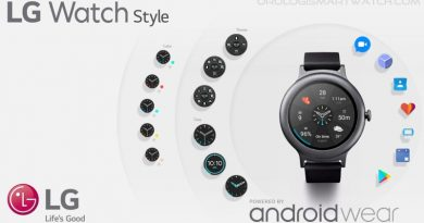 Scheda Tecnica LG Watch Style (W270)